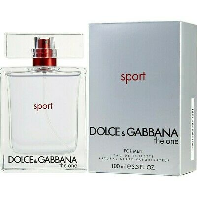 100% Authentic Dolce & Gabbana The One Sport Men 3.3 oz Eau de Toilette Spray