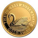 2017 Australia 1 oz Gold Swan BU - SKU #156844