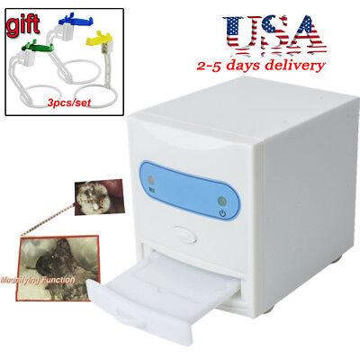Dental Digital X-ray Film Reader Viewer Digitizer 3m Cable W X-ray Film Sensor