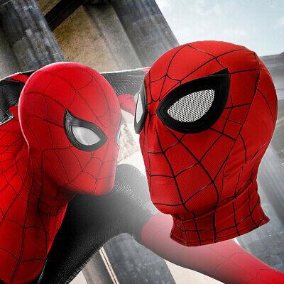 2019 Movie Spider-Man 2 Far From Home Peter Parker Cosplay Masks Lycra Halloween - Movie Masks Halloween