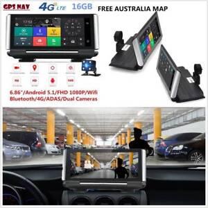 All in one car 6.86″ 4G Dual Lens Dash Cam Reverse DVR GPS NAV Doveton Casey Area Preview