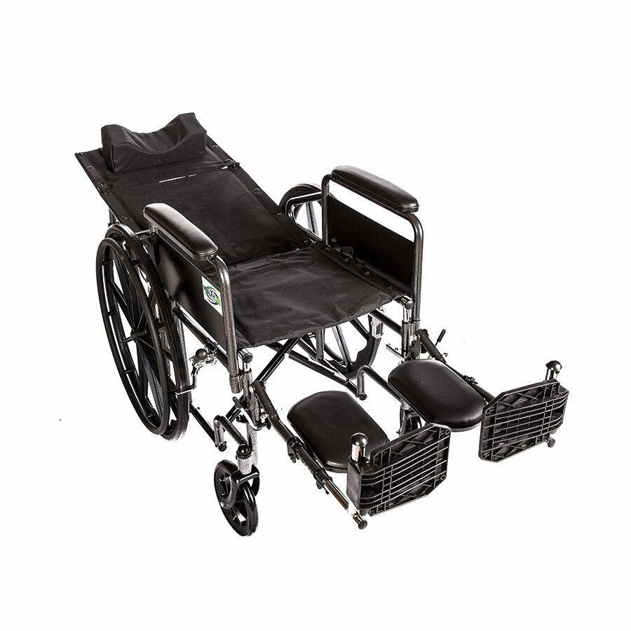 Recliner Back 18 Quot Wheelchair Full Arm Detachable W