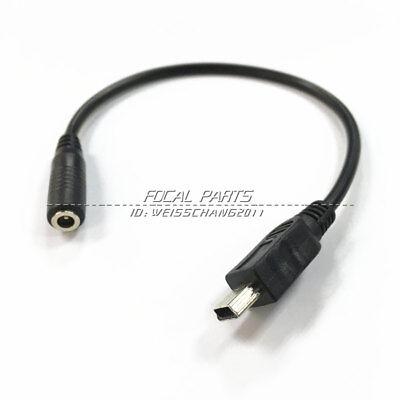 Mini USB to 3.5mm Jack Headset Headphone Earphone  Adapter for Motorola V3 - Mini Usb Headset Adapter