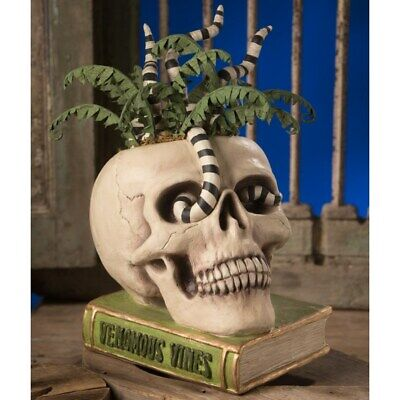 Bethany Lowe - Halloween - Venomous Vines Skull - TD9072