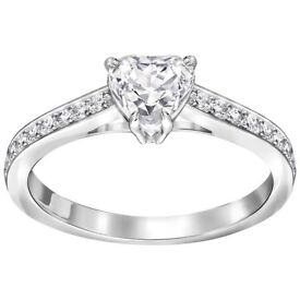 SWAROVSKI Attract Heart Ring RRP £80