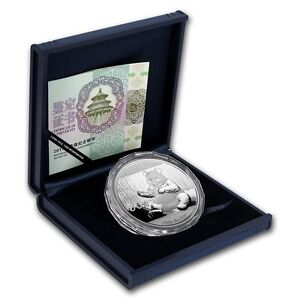 CHINESE-SILVER-PANDA-2017-150-Gram-Silver-Proof-Coin-Box-and-COA
