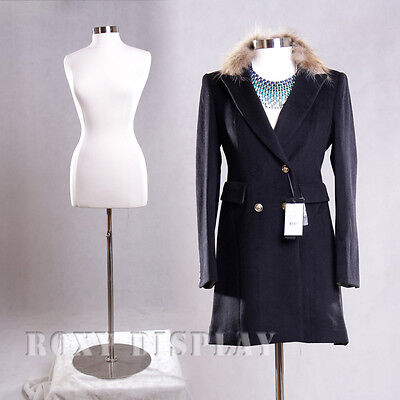 Female Size 10-12 Mannequin Manequin Manikin Dress Form F1012wbs-04