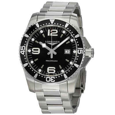 Longines HydroConquest Black Dial Men's Watch L38404566