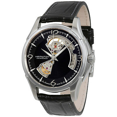 Hamilton Jazzmaster Open Heart Black Dial Automatic Mens Watch H32565735
