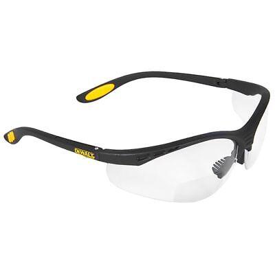 Dewalt Reinforcer Bifocal Safety Glasses With Clear Lens