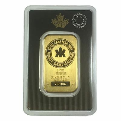 ROYAL CANADIAN MINT 1 OZ GOLD BAR | IN ORIGINAL MINT ASSAY CARD
