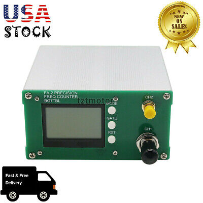 Fa-2 1hz-6ghz Frequency Meter Counter Kit Statistical Function 11 Bitssec Us