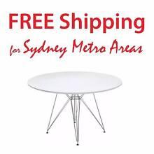 SALE - Eames Style Eiffel Dining Table (dia 120cm) Zetland Inner Sydney Preview