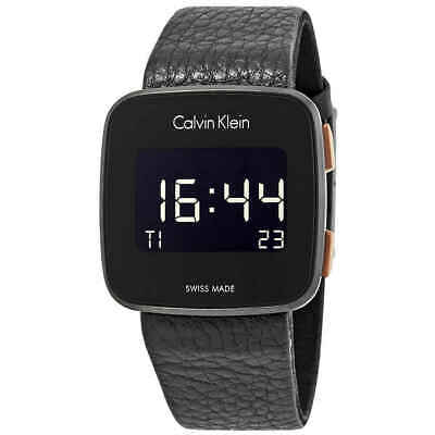 Calvin Klein Future Digital Black Dial Watch K5C11XC1