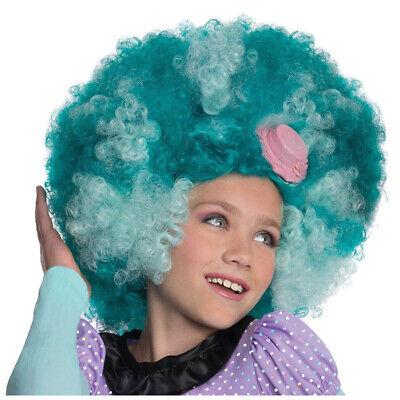 MONSTER HIGH HONEY SWAMP PERÜCKE KINDER Fasching Clown Kostüm Party Hut - Monster High Honey Swamp Kostüm