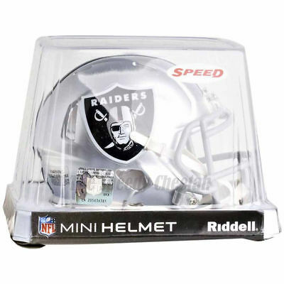 Nfl Mini Helmet - OAKLAND RAIDERS RIDDELL NFL MINI SPEED FOOTBALL HELMET