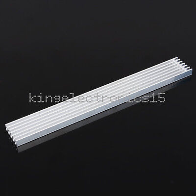New Silver Heat Sink Led 150x20x6mm Heat Sink Aluminum Cooling Fin