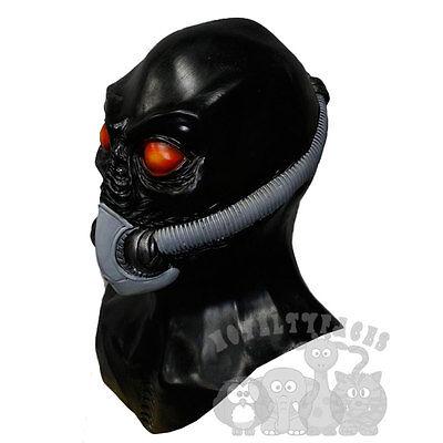 Latex Halloween Gas Masked Aliean Horror Film  Props Fancy Costumes Mask