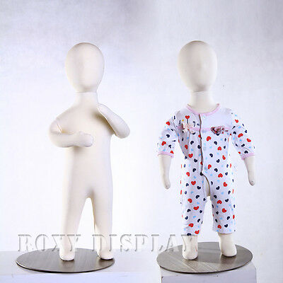Full Body Children Jersey Covered Flexible Children Mannequin Dress From Ch06m
