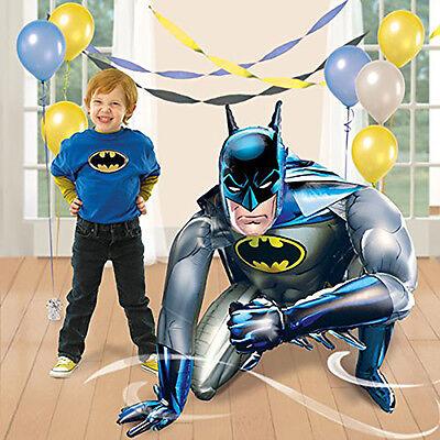 Jumbo BATMAN Air Walker Foil Balloon Birthday Party Supplies Decoration AWK ~44