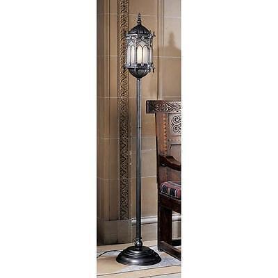 Gothic lantern floor lampebay 1 aberdeen manor gothic lantern masterpiece medieval 68 floor lamp mozeypictures Choice Image