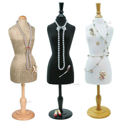 3pc Jewelry Display Stand Mannequin Miniature Body Form Jewelry Stand 22 516