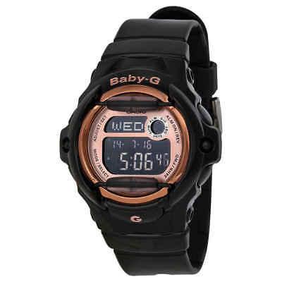 Casio Baby G Digital Dial Black Resin Ladies Watch