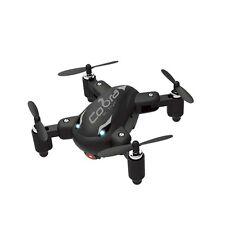 COBRA RC TOYS 2.4GHZ FOLDING POCKET DRONE WITH BUILT-IN CAMERA BLACK W/ WARRANTY