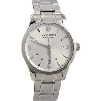Victorinox Alliance Quartz Movement Silver Dial Men's Watch 241476