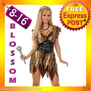 J7-Prehistoric-Cave-Girl-Woman-Jungle-Jane-Tarzan-Cavewoman-Fancy-Dress-Costume