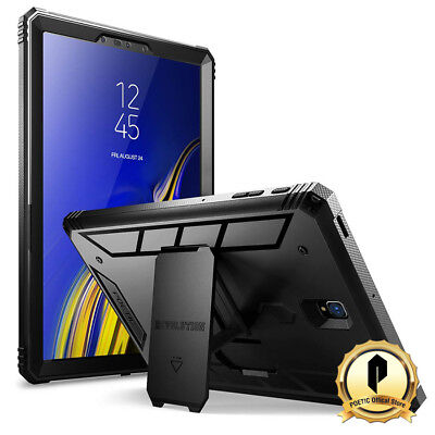 Poetic® For Samsung Galaxy Tab S4 10.5 Case [Revolution] w/ Kick-Stand Black (Samsung Galaxy Tab S Poetic)
