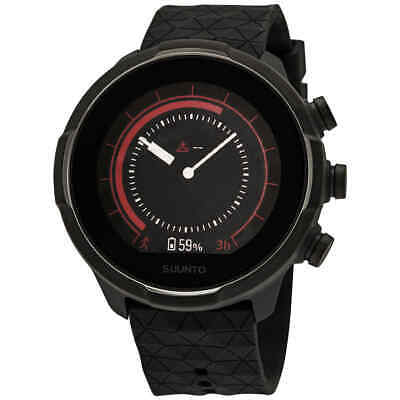Suunto 9 G1 Baro Multisport Titanium Digital Black Dial Quartz Smart Watch