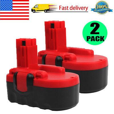 Extended Battery Bat - 2 x 18V Extended Rechargeable Battery for Bosch BAT025 BAT026 BAT160 BAT180 Tool
