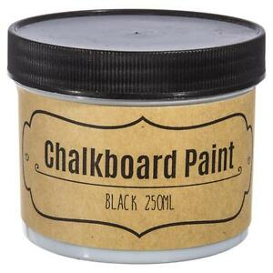 Blackboard Paint Chalkboard Paint Black 250ml Menu Board Paint Chalk Paint