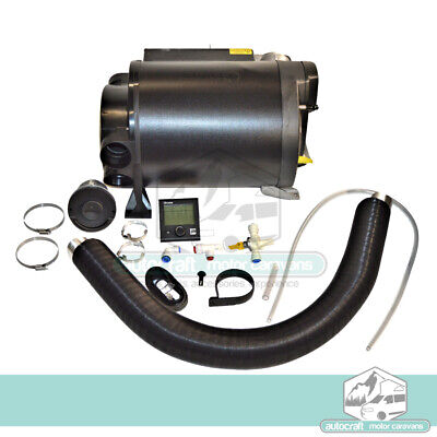 Truma 4E combi Boiler Gas & electric Hot air blower + water heater COMPLETE KIT