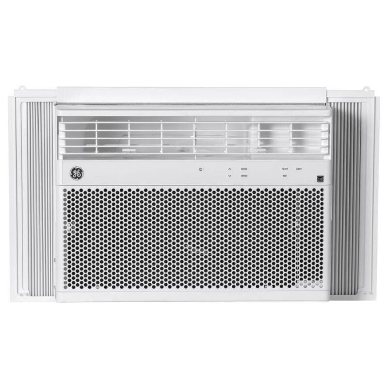 GE 350-sq ft Wifi Connected Window Air Conditioner - White