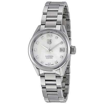 Tag Heuer Carrera Automatic Stainless Steel Ladies Watch THWAR2414BA0776