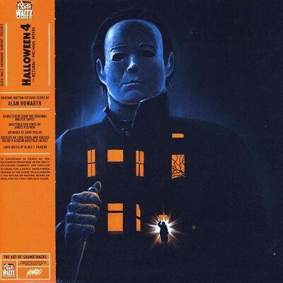 HALLOWEEN IV (4) - OST - 2LP / Orange Vinyl - Alan Howarth (The Return of...) (Halloween Alan Howarth)