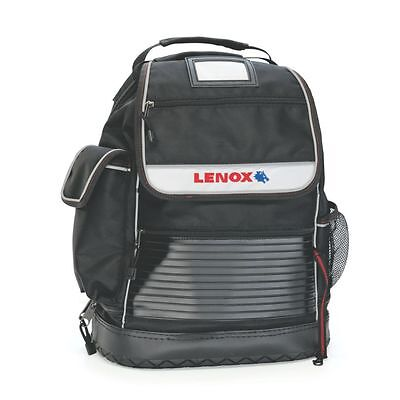 LENOX Nylon Zippered Backpack Portable Tool Bag Storage Pouch Padded Shoulder