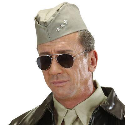 US-ARMY SCHIFFCHEN Soldaten Armee Käppi Cap Mütze Hut USA Kostüm Party Deko 9512 ()