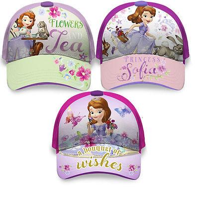 Disney Princesa Sofia Cap Kappe Mütze Sonnehut Sonnenschutz Lizenzware