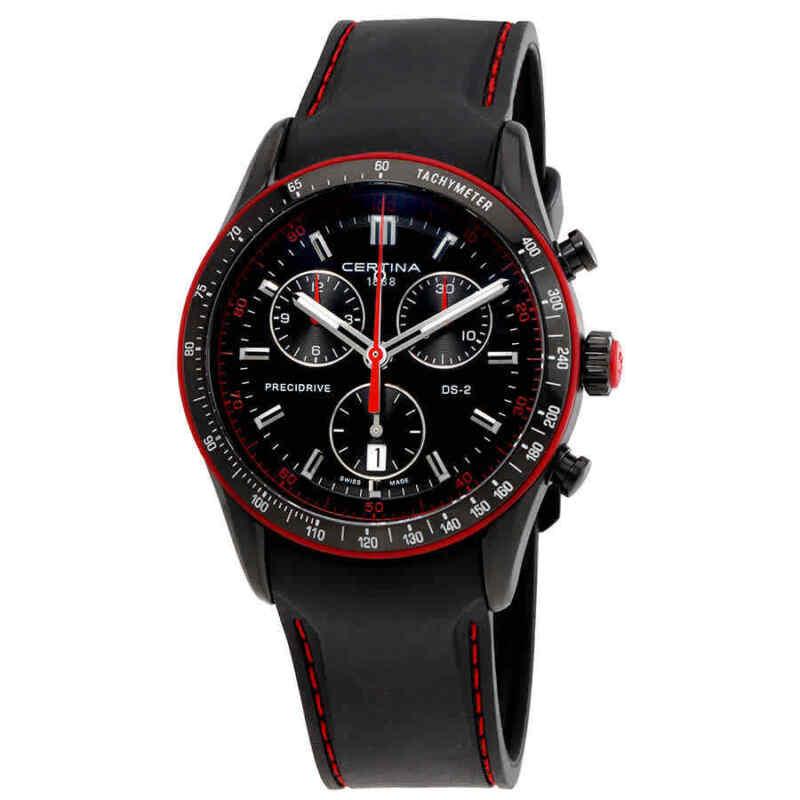 Certina-DS-2-Chronograph-Black-Dial-Men-Watch-C024.447.17.051.33