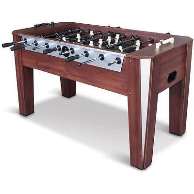 "Foosball Soccer Table 60"" Competition Sized Arcade Game Room Hockey Fooseball"