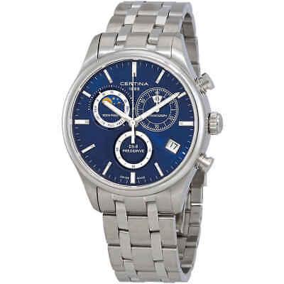 Certina DS-8 Chronograph Blue Dial Men's Watch C033.450.11.041.00