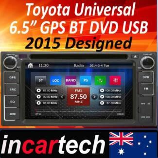 Toyota DVD player GPS Bluetooth for Camry Corolla Hilux Rav4 Parramatta Parramatta Area Preview