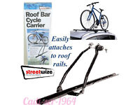 BRAND NEW Streetwize Roof Bar Cycle Carrier