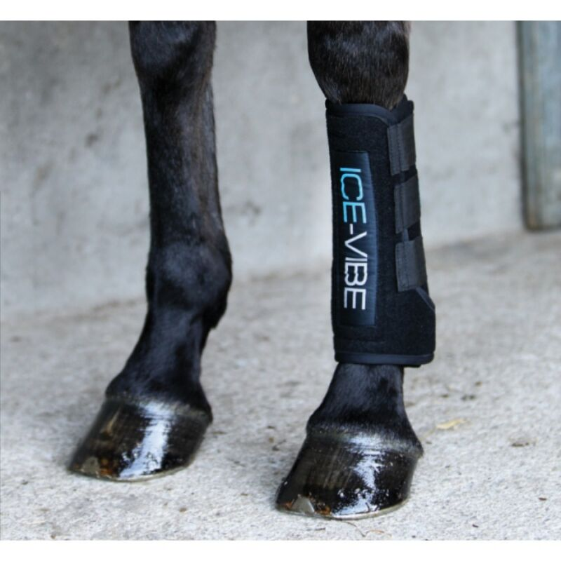 NEW Ice Vibe Circulation Therapy Boot - Black - Extra Full