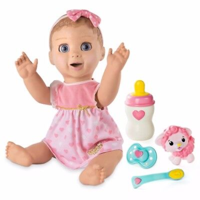 Luvabella Blonde Hair Responsive Baby Doll Free Shipping