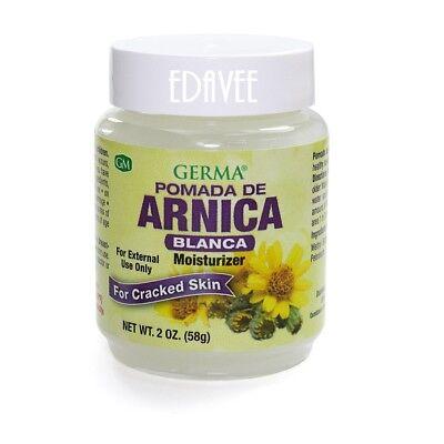 Arnica Salve 2 Oz White Ointment Pomada Bruises Cramps Arthritis Pain Relief