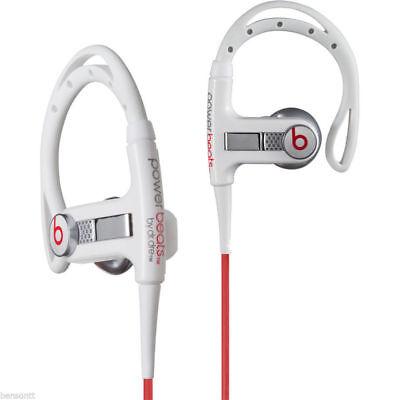 Beats By Dr  Dre Powerbeats Ear Hook Headphones   White